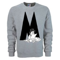 The design of the Moomin Alphabet is based on an original typography used in the early comic strips by Tove Jansson, the author and creator of the Moomins. Each letter corresponds with the name of the Moomin character in English. Please see the second slide for measurements and note that this is a unisex sweatshirt model. The price of this item includes free global shipping. T-shirts and other products in the same order are delivered separately!Note that this is a custom made on-demand…