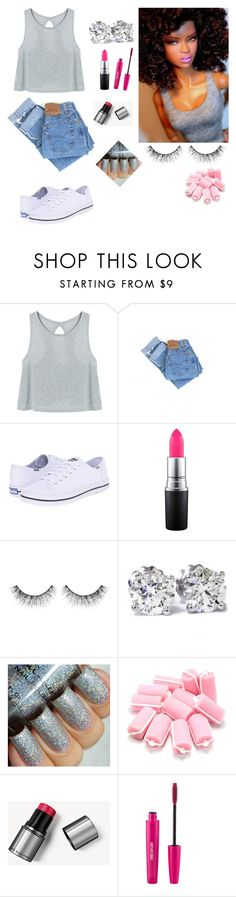 """Untitled #302"" by loismo73 ❤ liked on Polyvore featuring Levi's, Keds, MAC Cosmetics, Sephora Collection, Bliss, Burberry and Sigma"