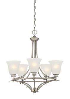 Designers Fountain Montego 5 Light Chandelier
