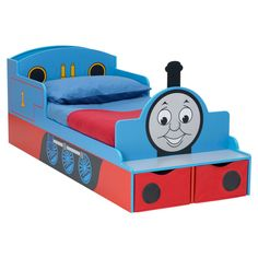 Thomas The Tank Engine Toddler Train Bed