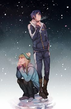Yato e Yukine <3 Noragami