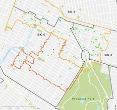 Bioswales will be planted at these sites in Brooklyn this summer. (Courtesy NYC DEP)