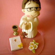 *PORCELAINE FROIDE ~ communiant en porcelaine froide