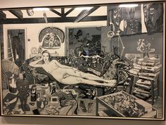 Reclining artist | Grayson Perry