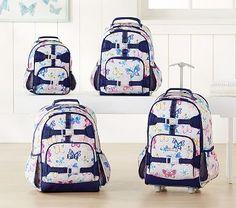Mackenzie Gray Rainbow Butterfly Backpack #pbkids