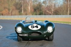 Jaguar D-Type, #XKD520 - ©Courtesy of RM Auctions - and the story: www.radical-classics.com. #Jaguar, #D-Type