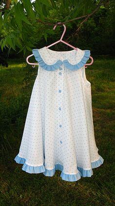 Summer Polka Dot Circle Dress. $35.00, via Etsy.