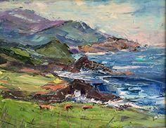 Big Sur Blows by Lilli-anne Price Oil ~ 14 x 18