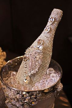 Bling Champagne bottle | The House of Beccaria