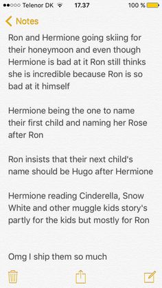 Idk how jk could say Harry and hermione actually belong together because they both married people who fit them perfectly