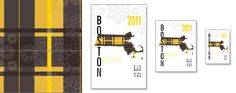 Boston Bruins Map Print