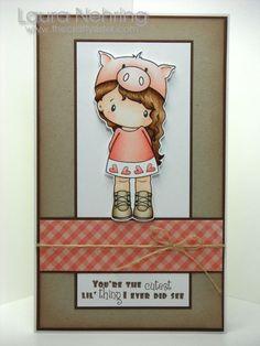 cute piggy hat!