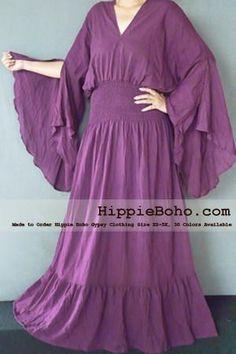 XS-5X Hippie Boho Gypsy Bohemian Women's Clothing Small & Plus ...