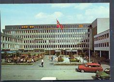 Oppland fylke Lillhammer  Handelens og Håndverkets Hus, Lillehammer 1960/70-tallet. Utg Normann