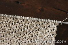 St. John's Wort is a gorgeous traditional lace knitting stitch that is easy and fun to knit up, perfect for shawls and other lacy items!