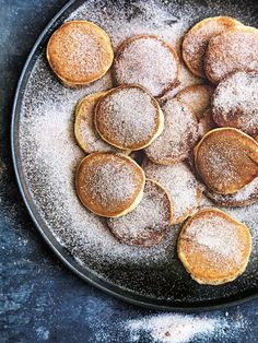 Mini Pancakes In Cinnamon Sugar
