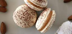 Gesalzene Karamell Macarons - Rezept für Macarons