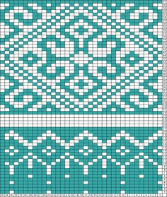 Tricksy Knitter Charts: fair isle pattern thingy by kirsten