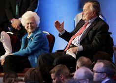 HOUSTON/January 19, 2017 (AP)(STL.News) — Former President George H.W. Bush and his wife, Barbara, remain hospitalized in Houston, where he was in intensive care for pneumonia and she was being watched after complaining of fatigue and coughing.    ...