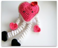 12 Free Valentines Day Crochet Patterns