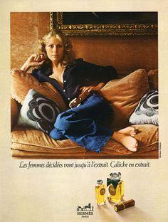 Hermès (Perfumes) 1972 Calèche, McCann-Erickson - http://hprints.com/Hermes_Perfumes_1972_Caleche_McCann_Erickson-54539.html