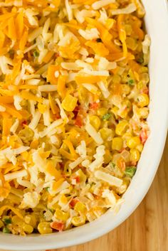 Umm, I need an excuse party because I want to try this Hot Corn Dip!
