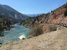 Beautiful scenery of British Columbia as seen from Rocky Mountaineer train ! #Canada @RMountaineer