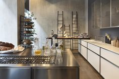 #showroom #kitchen #design #interiors #kitchens #Rossanacucine #living