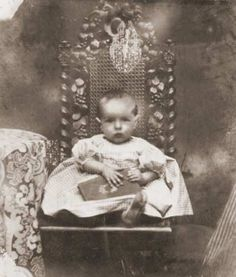 Claude Debussy as a baby