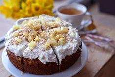 Ananasovo-ořechovo-kokosový dortík se šlehačkou | Veganotic