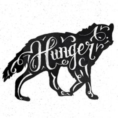 The hungry wolf by Winston Scully Always hungry...
