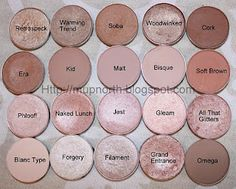 mac's best neutrals (This is a great group---love Naked Lunch!)