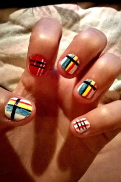 #nail #art #homemade