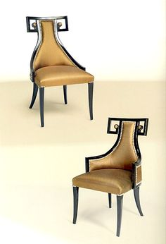 Elegant dining chair Luxury classic furniture diningroom | Taylor Llorente Furniture