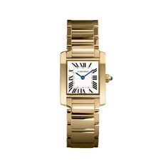 Cartier Tank in gold #want