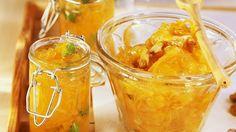 Würzig, wärmend, wunderbar: http://eatsmarter.de/rezepte/mango-ingwer-marmelade | http://eatsmarter.de/rezepte/mango-ingwer-marmelade