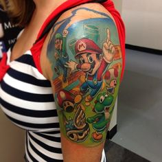 "Super Mario Bros ""TATTOO"""