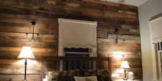 Forrar paredes con palets – Muebles hechos con palets