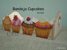 Bandeja Cupcakes BJ 01 - CRIS NAGY ATELIER