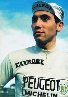 Eddy Merckx Peugeot 1966 to 1967 Peugeot, Odense, Cycling Art, Cycling Jerseys, Mtb, Velo Retro, Bike Poster, Vintage Cycles, Bicycle Race