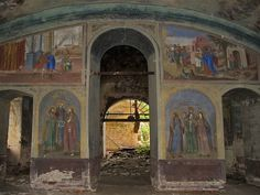 God-forsaken: Abandoned churches and cathedrals of Russia - 51 / Dormition Church, 1755. The village of Elokhovo, Yaroslavl Oblast
