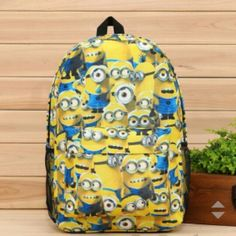 WANT THIS MINION BACKPACK! <3