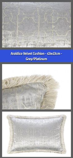 Cushion Material: velvet Dimensions: All over RC logo pattern Grey tones Supplier code: 92096 Barcode: 8015317920967 Bring a little opulence into Rc Logo, Velvet Cushions, Roberto Cavalli, Home Accessories, Crochet Hats, Sleep, Touch, Throw Pillows, Space