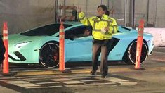 Justin Bieber flashes his tighty-whities as he exits blue Lamborghini Blue Lamborghini, Hillsong Church, The Last Leg, His Jeans, Champion Sweatshirt, 24 Years Old, Casual Jeans, White Outfits, Justin Bieber