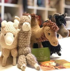 Guess who will be soon at @strikkeart Pascuali Amigurumis wants to be in every shop all over the world! #amigurumi #yarnstore…