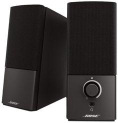 Caixas de Som Multimídia Bose Companion 2 Series III  Você vai fazer adorar ouvir cada detalhe de suas músicas com essas modernas Caixas de Som Multimídia Companion 2 Series III da Bose.