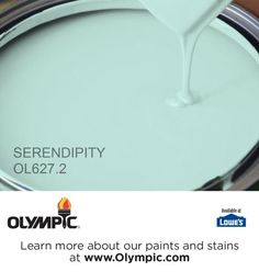 SERENDIPITY OL627.2 is a part of the aquas collection by Olympic® Paint.
