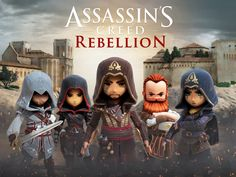 Assassin's Creed Rebellion Game Coming To Android Soon #Android #Google #news