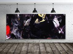 Große Acrylgemälde auf Leinwand von HeartArtGallery auf Etsy