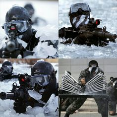 707th Special Mission Battalion 제707특수임무대대 (South Korean Special Forces)